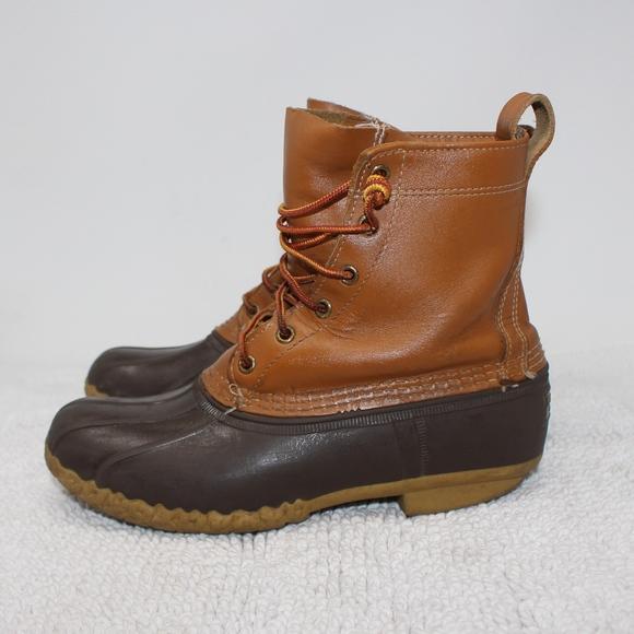 3da39233bc60c LL Bean Thinsulate Duck Rain Boots Womens Size 9